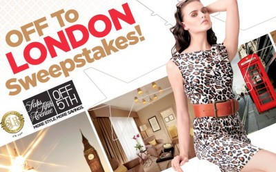 Saks Fifth Avenue OFF 5th Off to London Sweepstakes