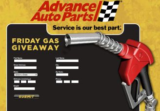 Advance Auto Parts Friday Gas Giveaway