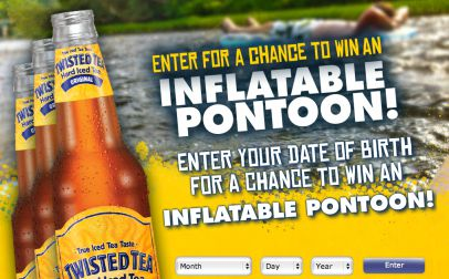 Twisted Tea Blow Up Your Fishing Trip Sweepstakes