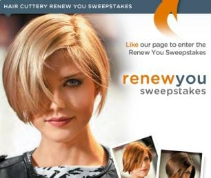 Hair Cuttery's Renew You Sweepstakes