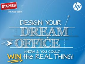Staples Design Your Dream Office Sweepstakes