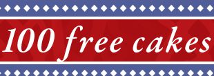 Cold Stone Creamery 100 Free Cakes Giveaway