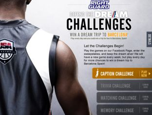 """Right Guard """"Defend the Dream Challenges"""" Sweepstakes"""