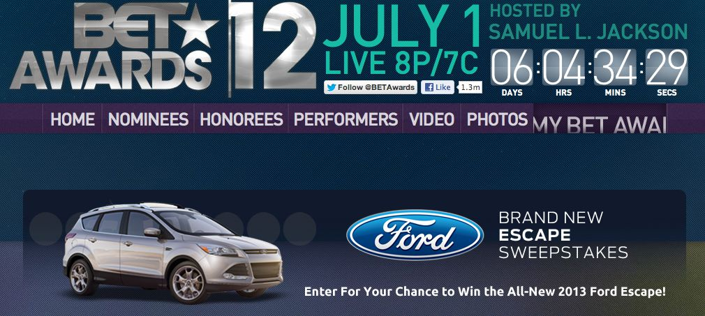 BET Brand New Escape Sweepstakes
