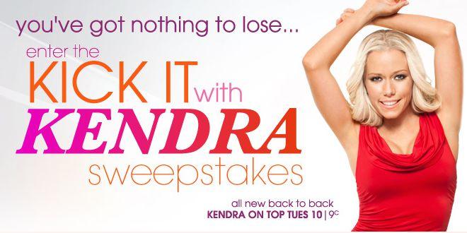 Kick it With Kendra Sweepstakes