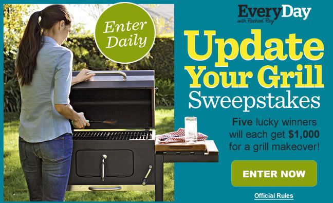 EveryDay with Rachel Ray's Update Your Grill Sweepstakes