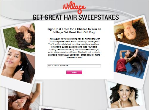 iVillage Get Great Hair Sweepstakes