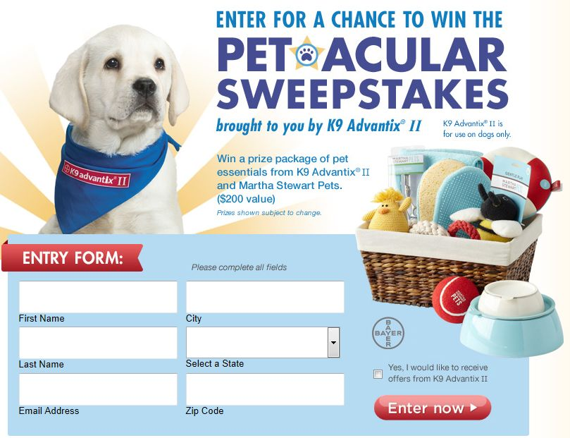 Pet-acular Sweepstakes
