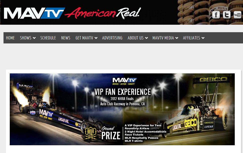 Morgan Lucas Racing and MAVTV VIP Fan Experience