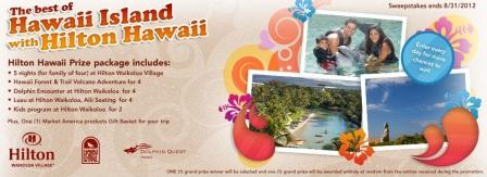 SHOP.COM Best of the Big Island 2012 Sweepstakes