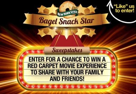 New York Style's Bagel Snack Stars Sweepstakes