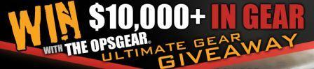 OPSGEAR Ultimate Gear Giveaway