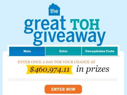 The Great TOH Giveaway