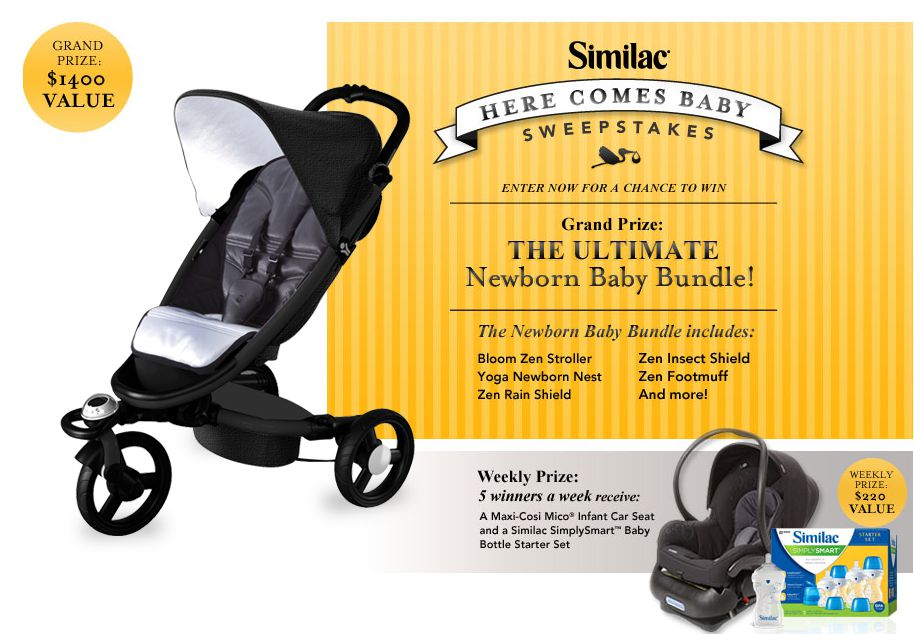 Similac Here Comes Baby Sweepstakes
