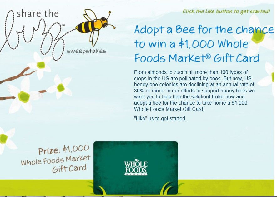 Share the Buzz Sweepstakes