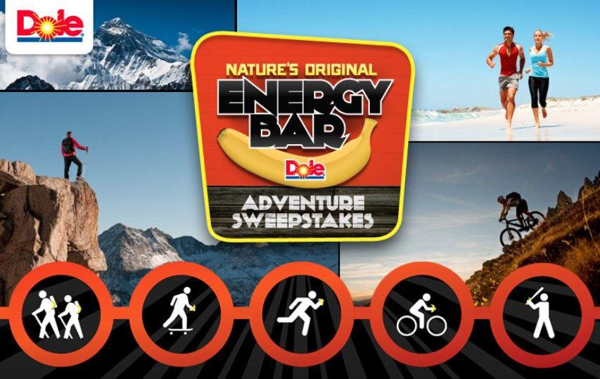 The Nature's Original Energy Bar Adventure Sweepstakes