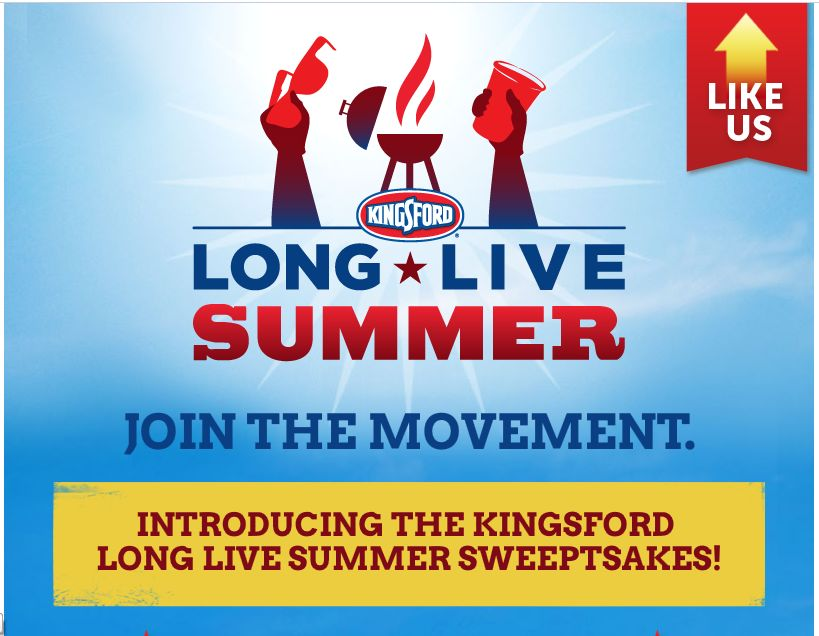 Kingsford Long Live Summer Sweepstakes