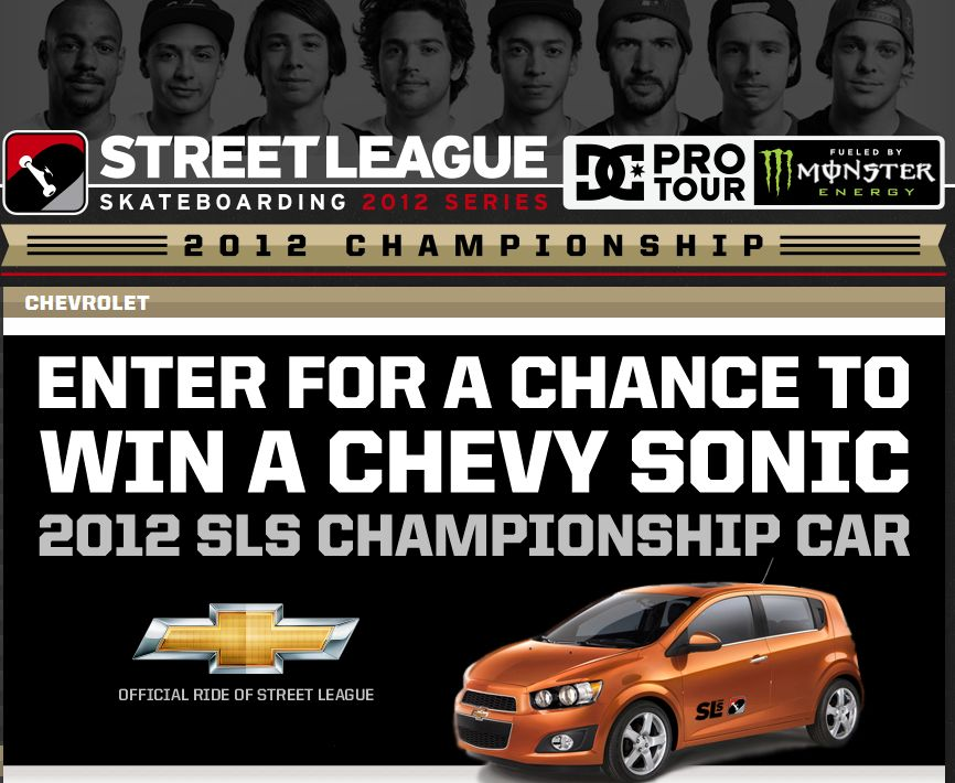 The Chevy Championship Ride Sweepstakes