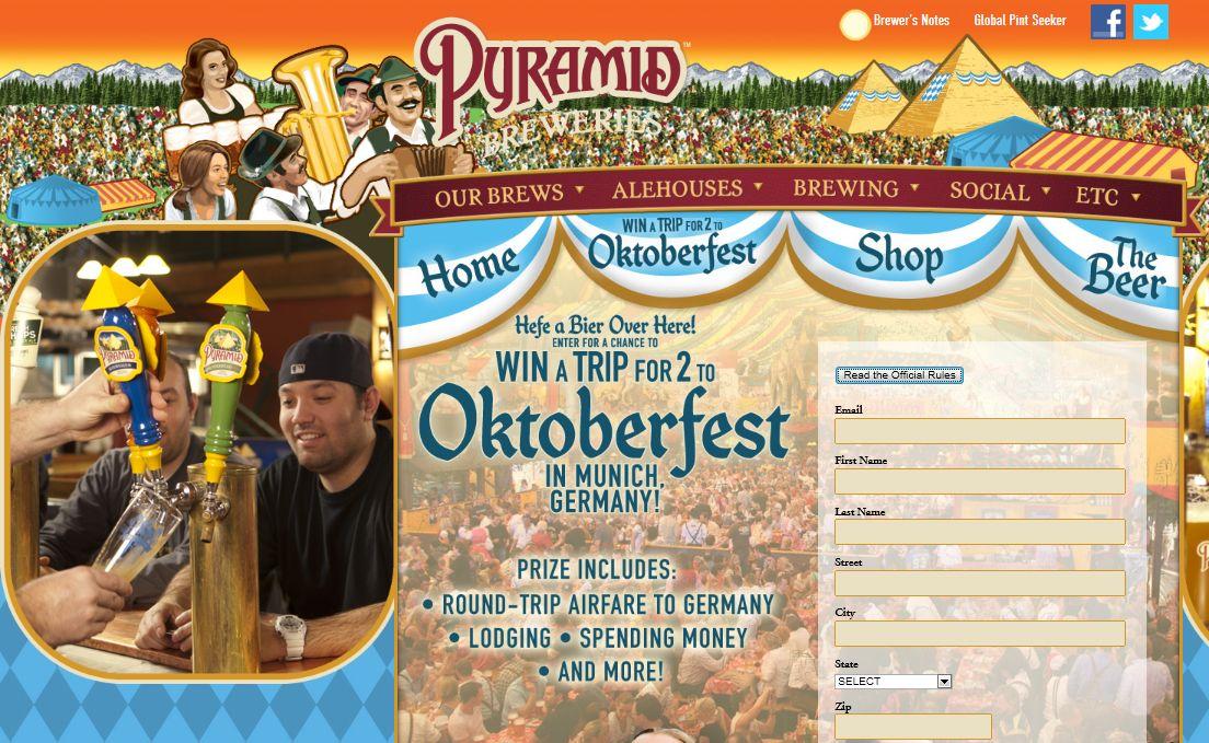 Pyramid Oktoberfest Sweepstakes