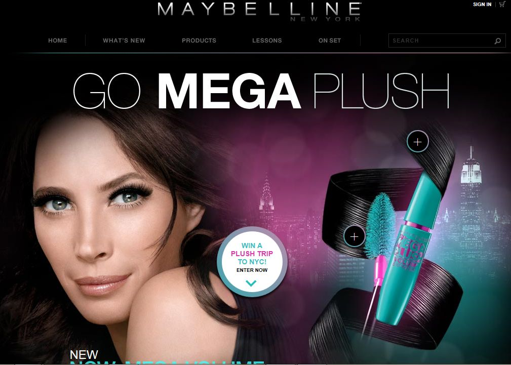 Maybelline New York MegaPlush Sweepstakes