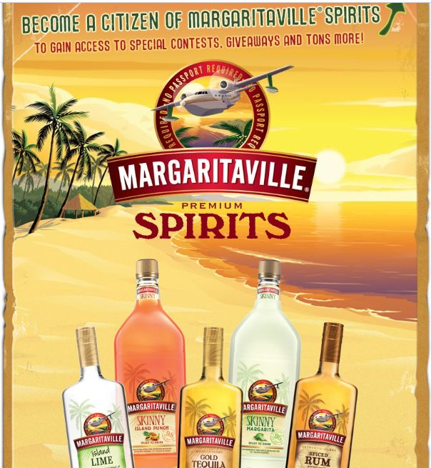 Margaritaville Spirits Summer Escape Sweepstakes