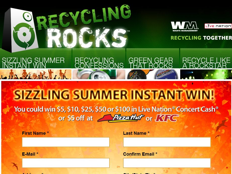Sizzling Summer Instant Win Game
