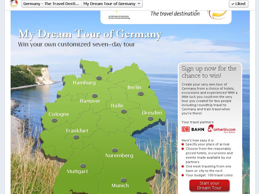 My Dream Tour of Germany Competition!