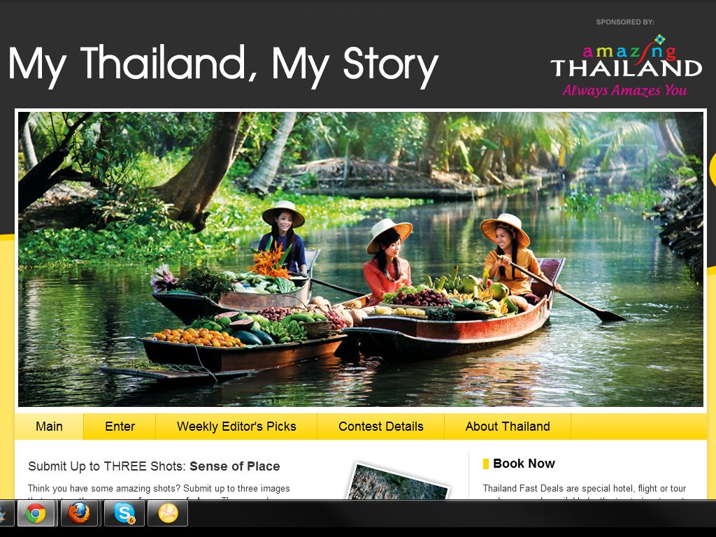 The official Tourism Authority of Thailand Photography Sweepstakes