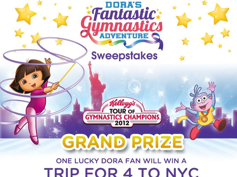 Dora Fantastic Gymnastics Sweepstakes!
