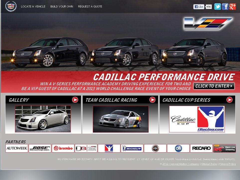 The Cadillac Performance Drive Sweepstakes! on cadillac restoration parts, cadillac vehicles, cadillac vector, cadillac cake, cadillac 16 cylinder, cadillac dagmars, cadillac clay models, cadillac replacement parts, cadillac mkz,
