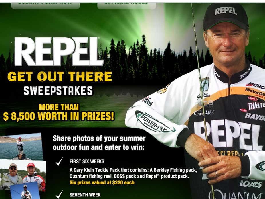 Repel Brand's Get Out There Sweepstakes