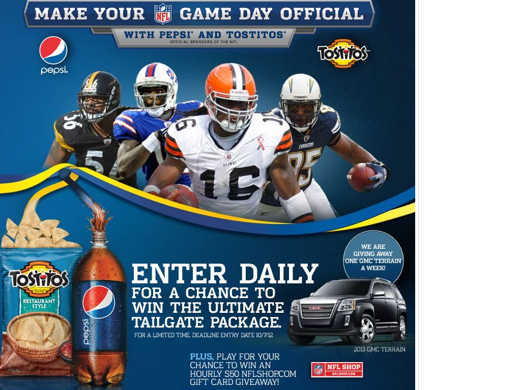 Nfl fan sweepstakes