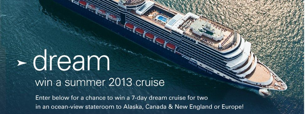 Summer 2013 Dream Cruise Sweepstakes on Facebook
