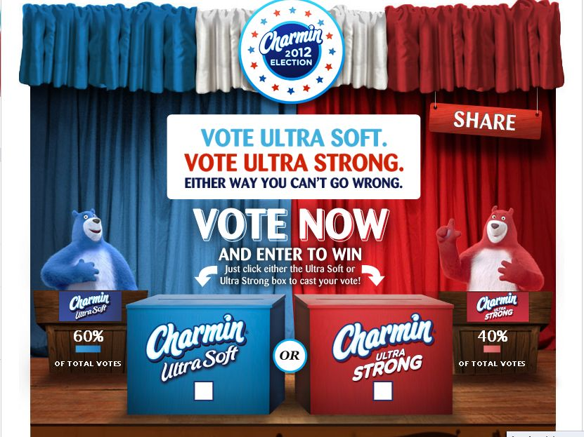 The Charmin Election Instant Win Game!