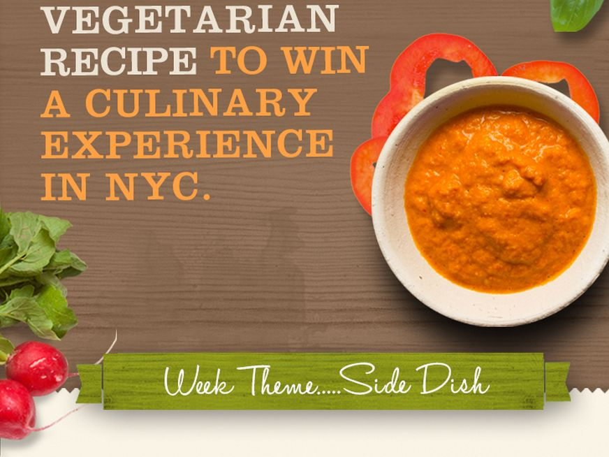 Pure Vegetarian Recipe Contest Sweepstakes