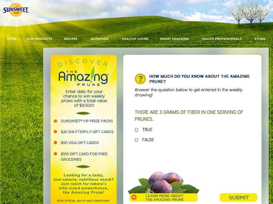 Amazing Sunsweet Promotion!