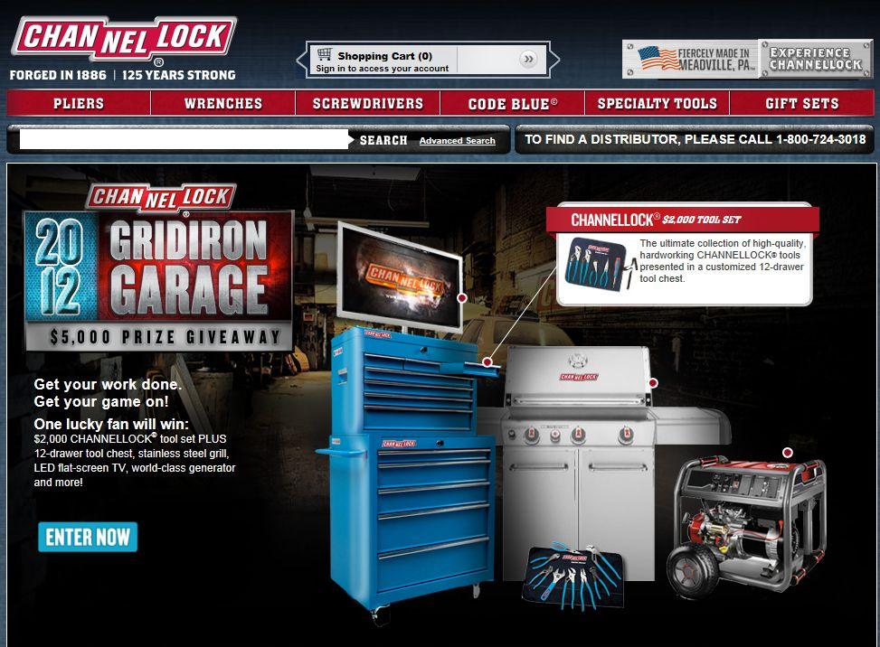 Gridiron Garage Giveaway Sweepstakes
