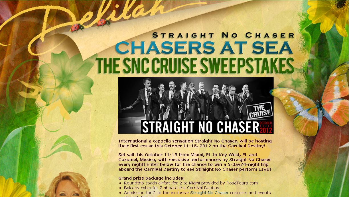 Chasers At Sea – The SNC Cruise Sweepstakes!