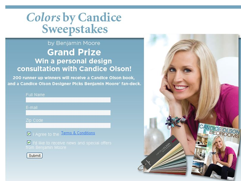 Colors By Candice Sweepstakes!