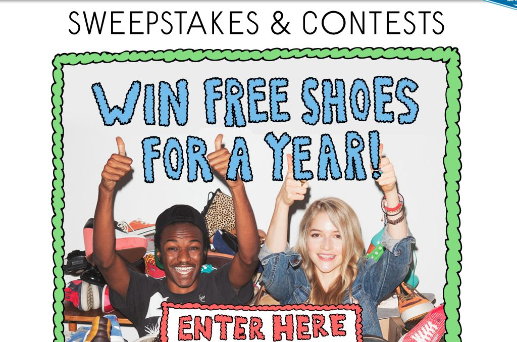 The Urban Outfitters Win Free Shoes For a Year Sweepstakes!