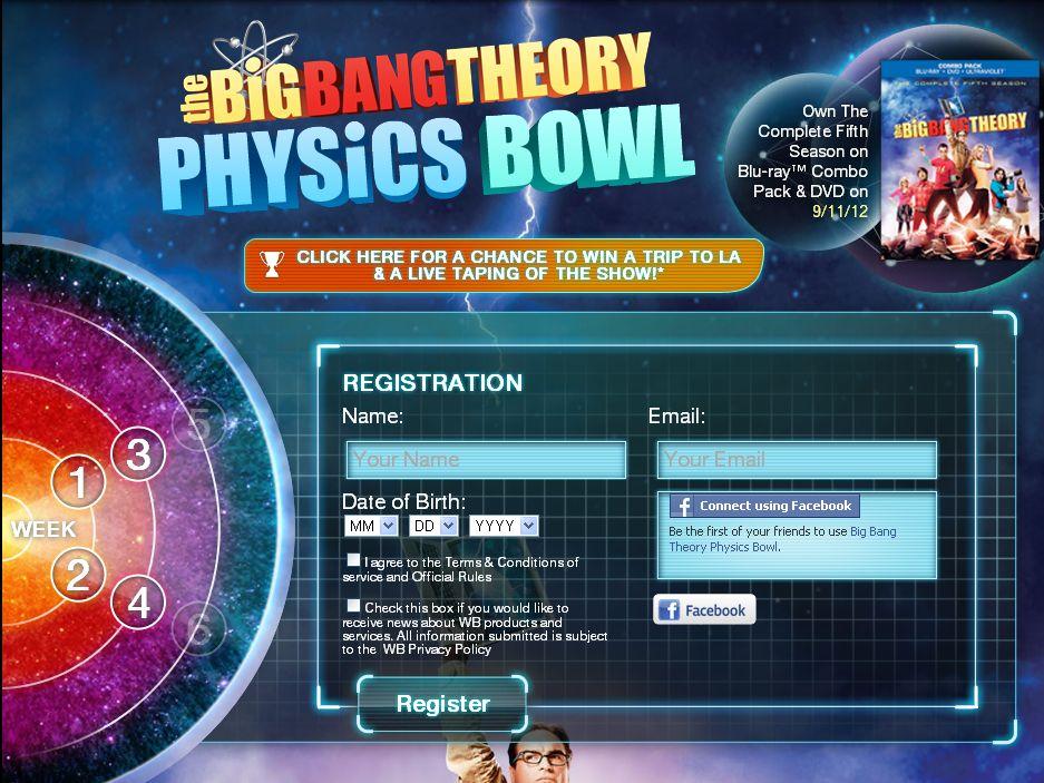 The Big Bang Theory Season 5 HE Sweepstakes!