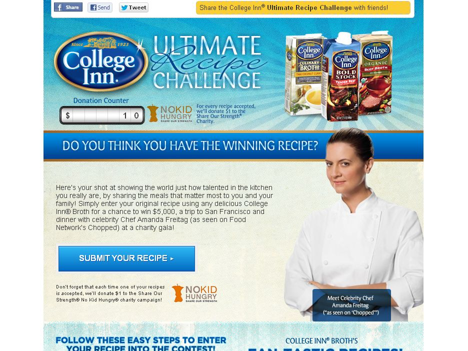 The College Inn Broth's Ultimate Recipe Challenge!