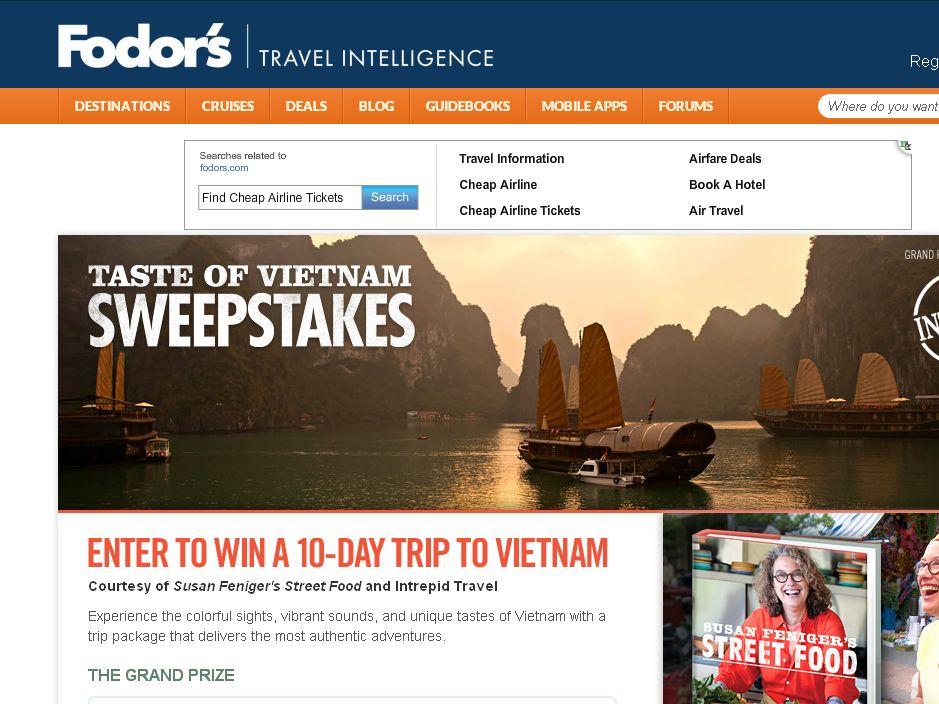 The Taste of Vietnam Sweepstakes!