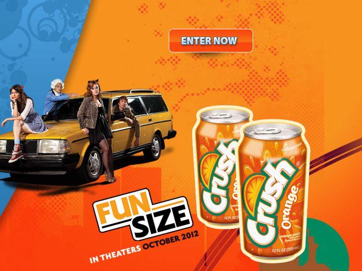 2012 Crush Fun Size Sweepstakes!