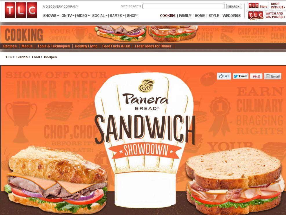 The Panera Bread Sandwich Showdown Contest!