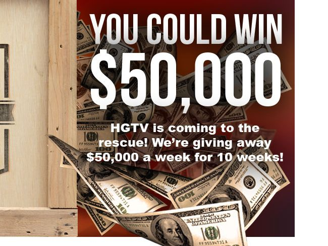 HGTV's Rescue Your Renovation Sweepstakes!