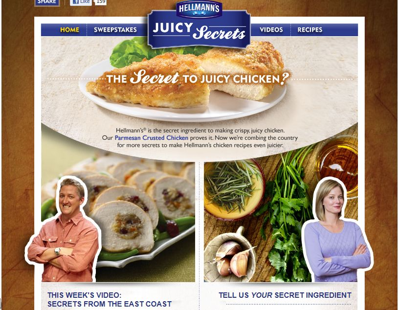 Hellmann's/Best Foods Juicy Secrets Sweepstakes
