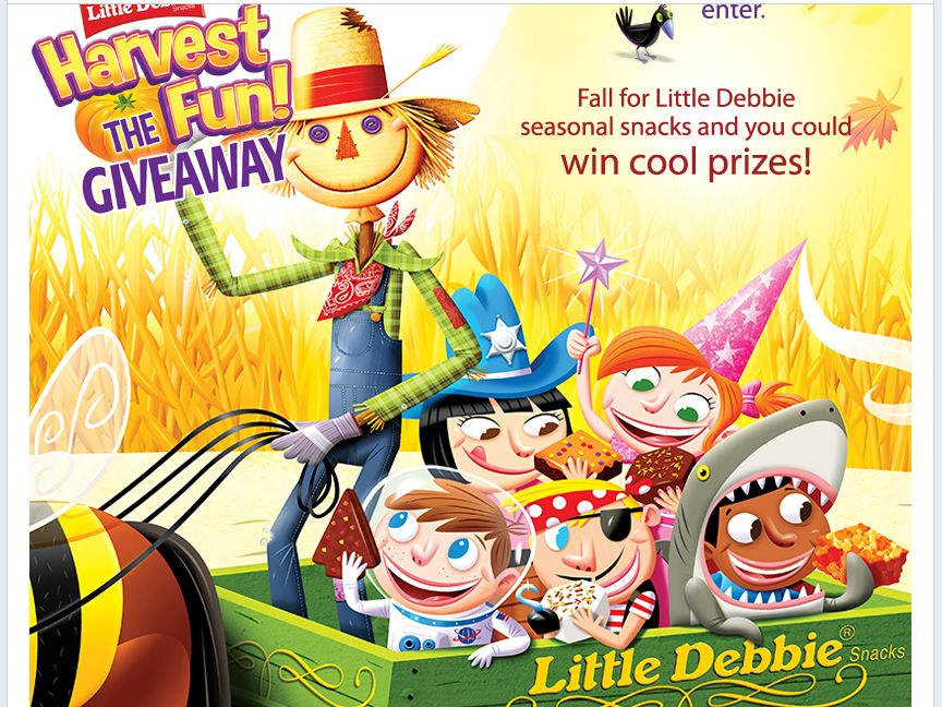 Little Debbie Harvest The Fun Giveaway!