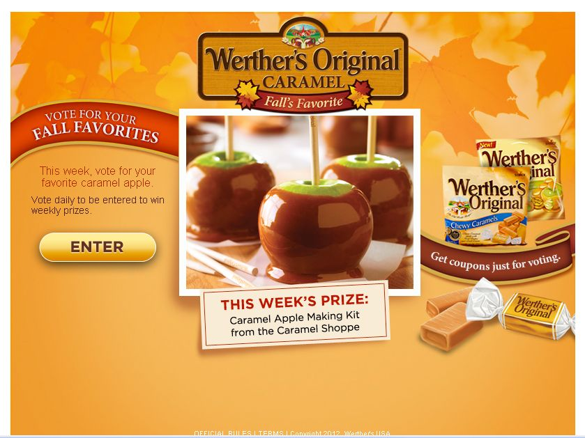 Fall's Favorite Sweepstakes!
