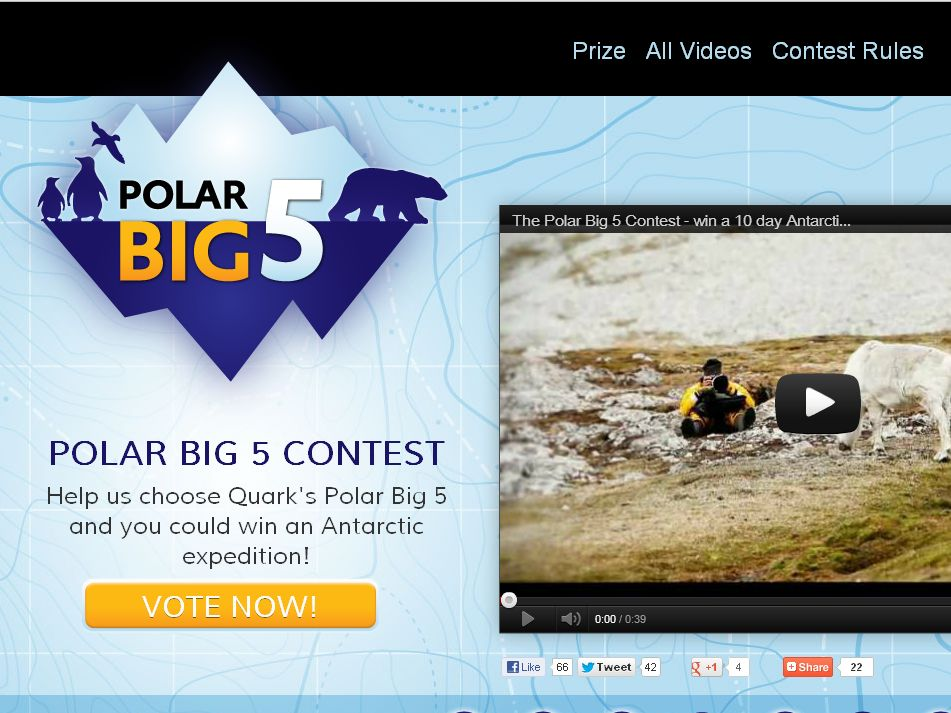 The Polar Big 5 Contest!